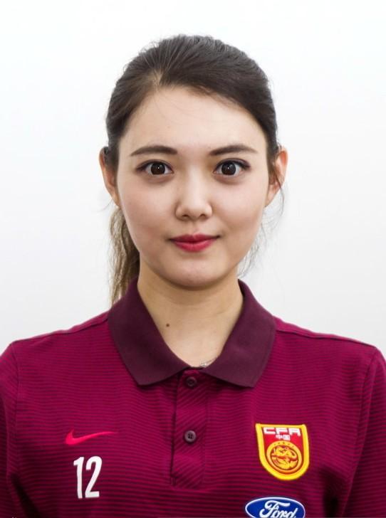 原乐视美女记者陈奕彤,上调女足任中国女子国家足球队新闻官