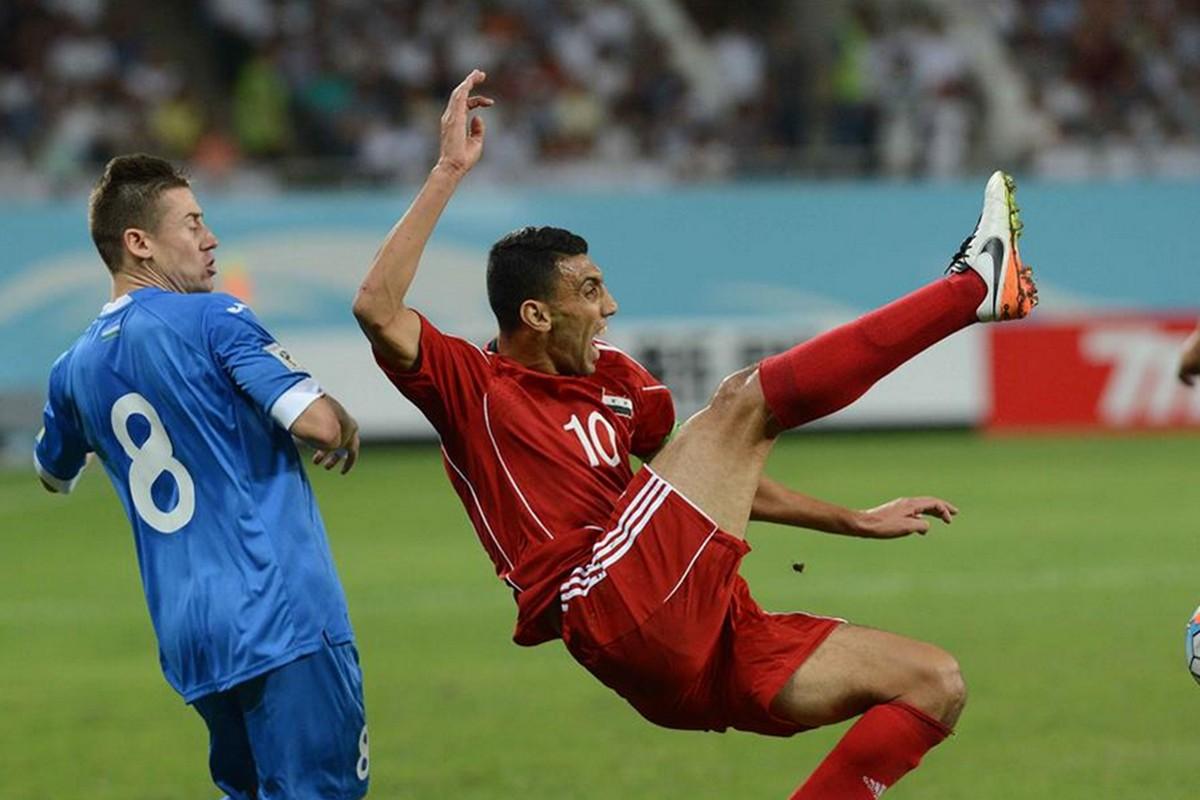 中国叙利亚足球回放_中国对叙利亚足球比赛_中国叙利亚快递足球
