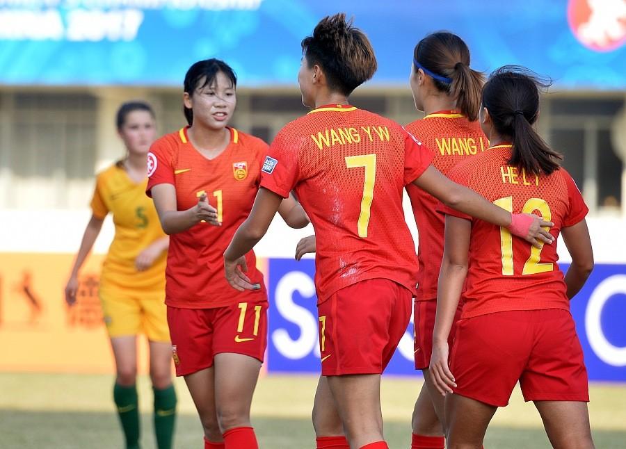 U19女足3-0完胜澳大利亚获世青赛资格,谢绮文一条龙破门