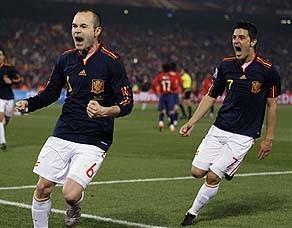 2010年世界杯专题丨H组:智利1-2西班牙