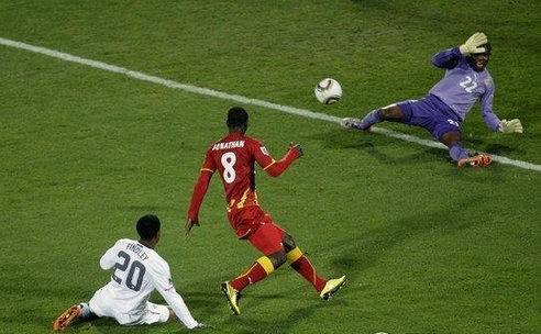 2010年世界杯专题丨八分之一决赛:美国1-2加纳