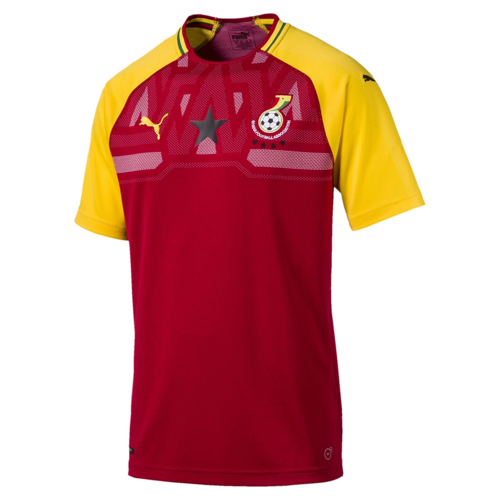 熱情似火,加納國家隊2018主場球衣發布