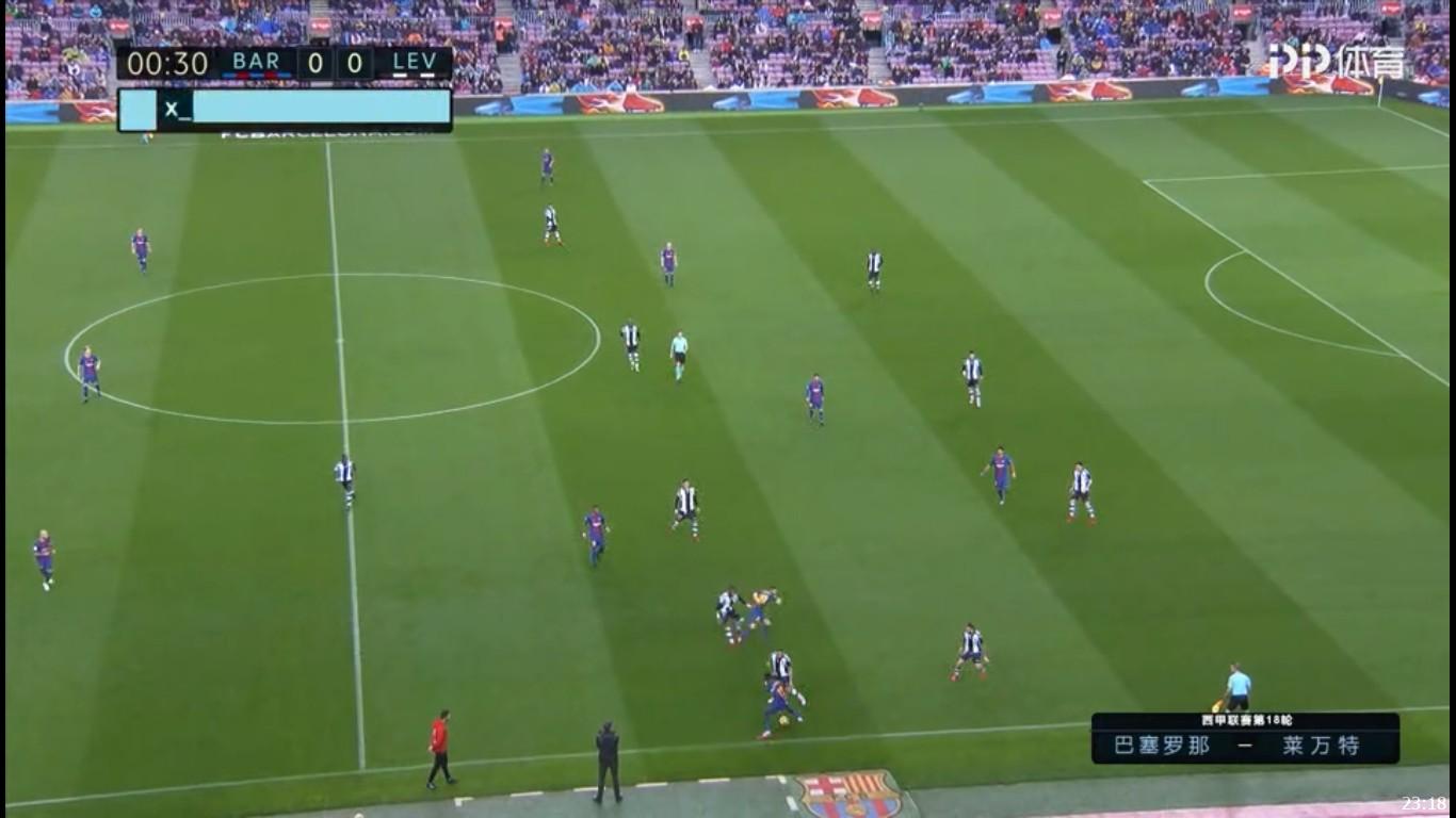 西甲| 巴萨vs莱万特 赛后分析