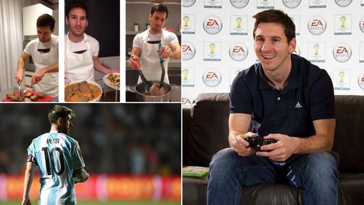 梅西会做饭吗?他打FIFA会选哪个队?萨巴莱塔告诉你答案