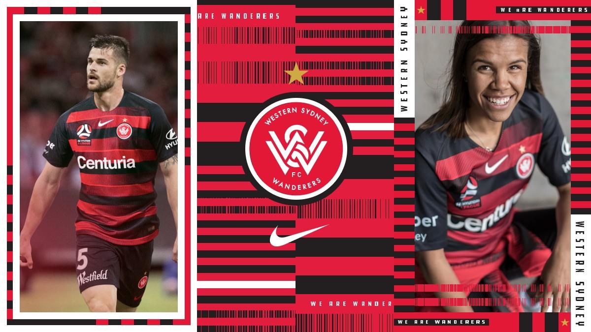 红黑军团!西悉尼流浪者2018/19赛季主场球衣发布!