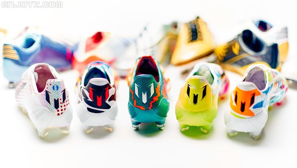 足控:细数梅西的所有专属战靴