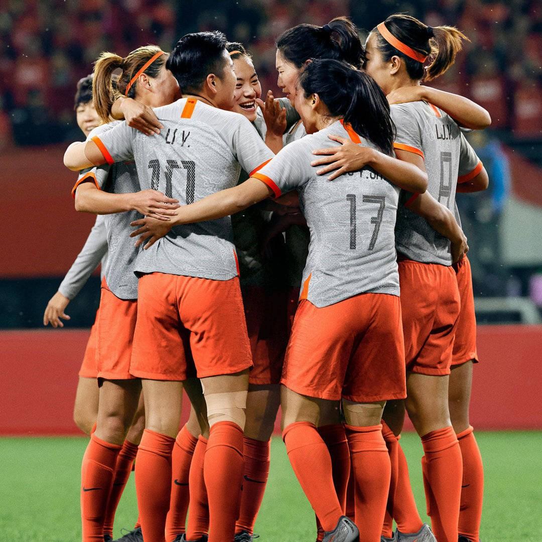 中国女足2019女足世界杯球衣发布,客场球衣选择灰色
