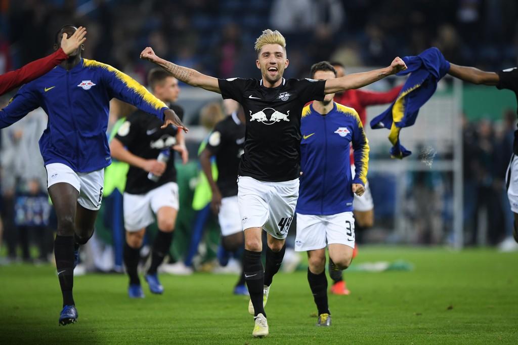 创造历史,RB莱比锡首次进入德国杯决赛