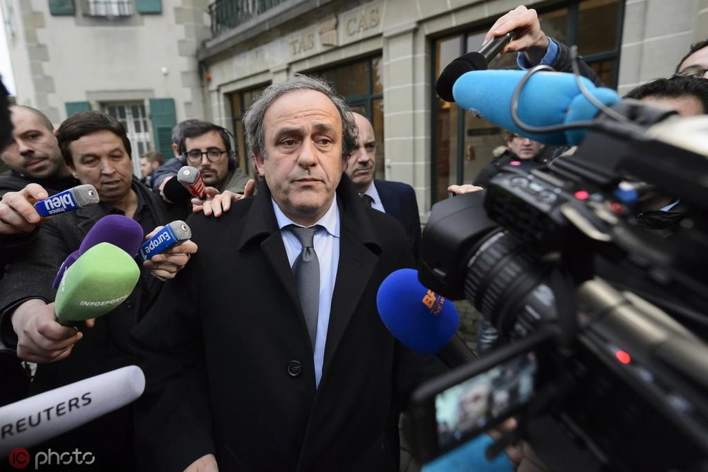 普拉蒂尼被捕前曾发声:我被人陷害,有人不想我出任FIFA主席