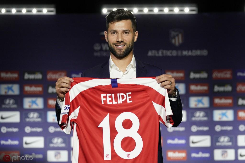 费利佩:马德里的球迷很热情;马竞会取得好成绩