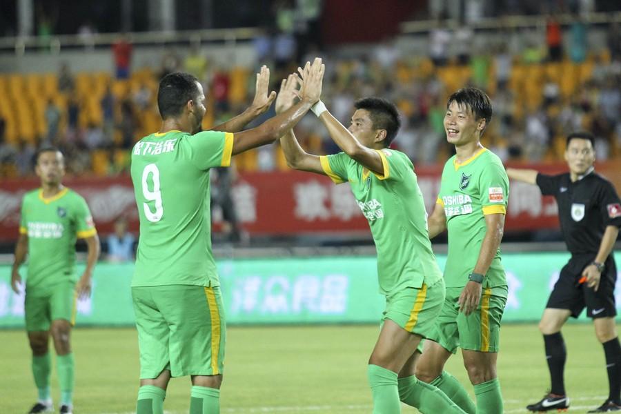 杭州绿城3-0河南建业加比