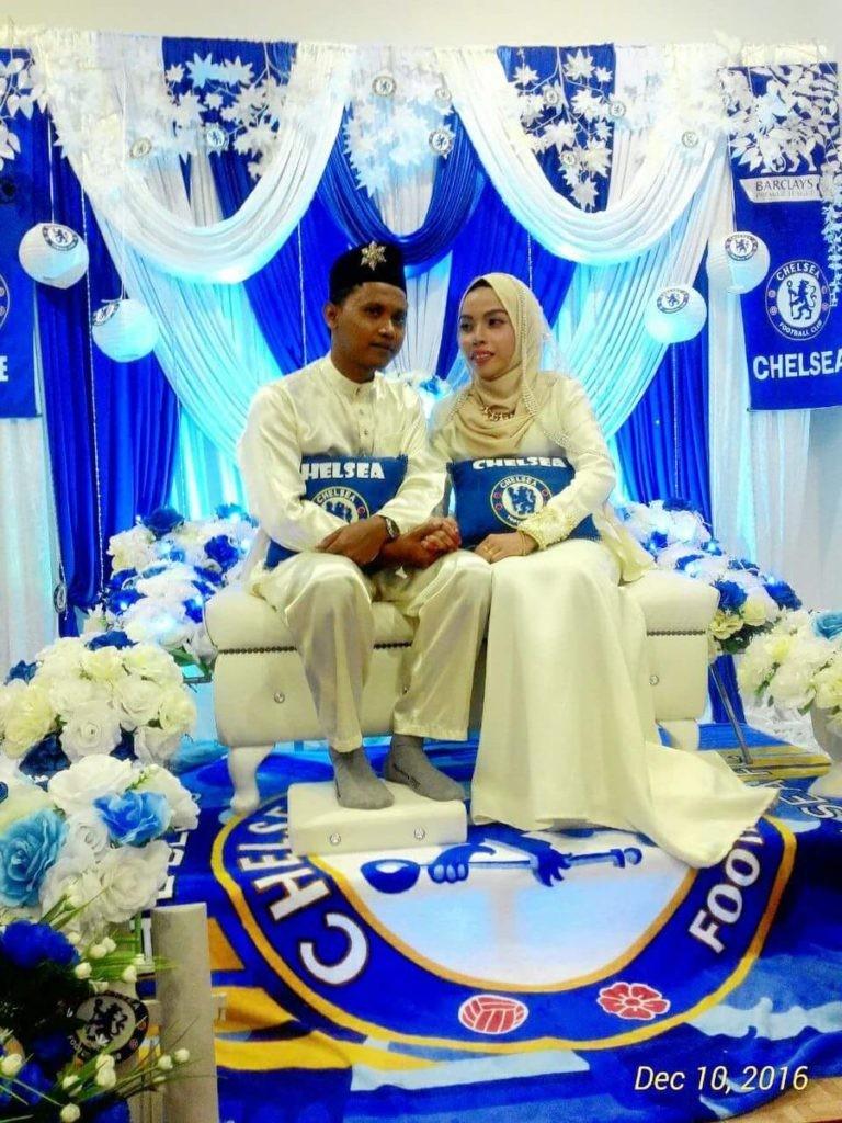 切尔西婚礼 真爱,马来西亚新人举办切尔西主题婚礼