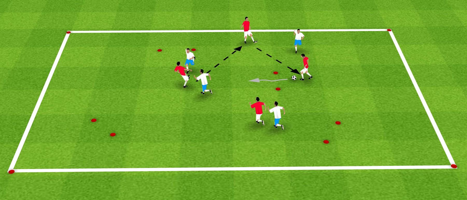 足球教案:一套提高球员控球能力的综合训练方