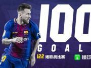 懂球帝海报:欧战100球成就,梅西已解锁!