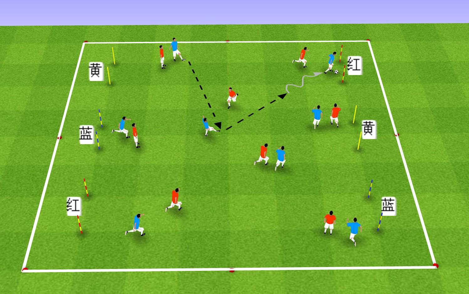 足球教案:提高球员球感和控球能力的三种训练方法