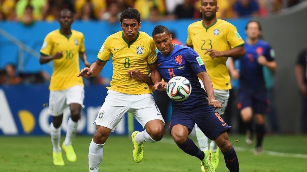 巴西vs荷兰2014 2014年世界杯专题丨三、四决赛:巴西vs荷兰