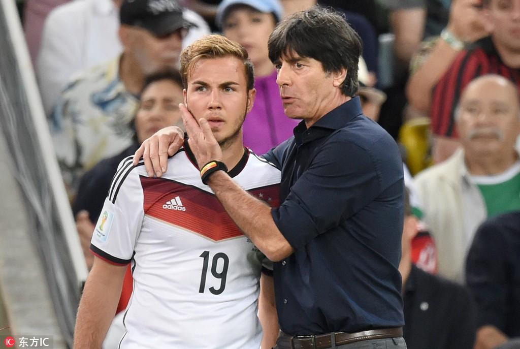曾在世界杯决赛鼓励格策证明他强于梅西,勒夫