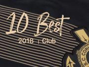 快点足球2018最美球衣10佳评选丨俱乐部篇