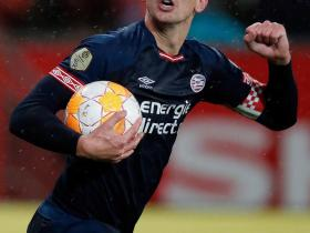 荷甲21轮,PSV埃因霍温客场2-2绝平乌德勒支