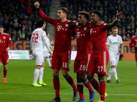 复盘:拜仁3-2险胜奥格斯堡,防守端问题重重,取胜仍艰难