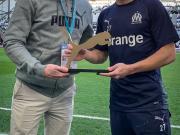 ? 荣膺马赛一月最佳球员的洛佩斯!在对阵亚眠的比...