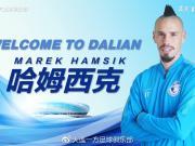那不勒斯全能中场重磅签约,欢迎哈姆西克加盟我俱乐部
