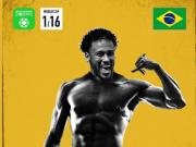 懂球帝世界杯16强海报:德国爆冷出局,巴西夺小组第一