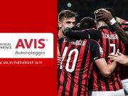 【官宣】汽车租赁品牌Avis正式成为AC米兰足球