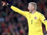 明天凌晨的国际比赛日赛程表舒梅切尔代表丹麦对阵科...