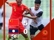 昨日国足不敌泰国,今天国奥5-0老挝,中国足球重燃希望!