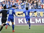 戰報丨首勝來了!昆山FC1-0深圳鵬城,朱崢嶸神仙球制勝