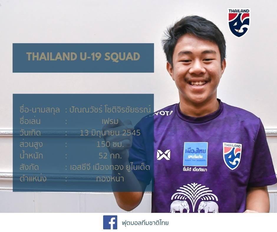 U19国青1-2不敌泰国,泰国一名锋线球员身高仅一米五!