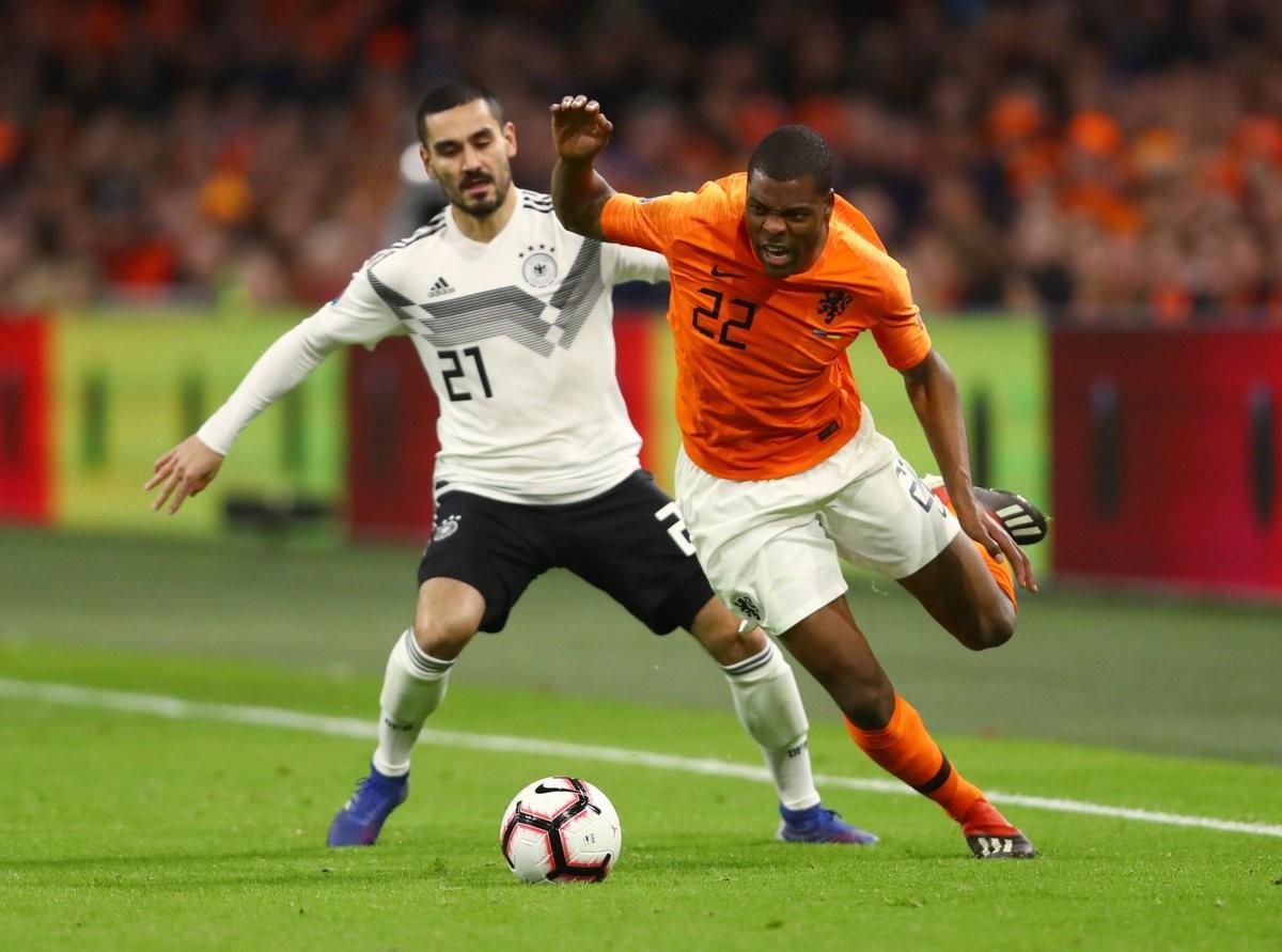 萨内进球助德国3-2绝杀荷兰,曼城两将表现出色!