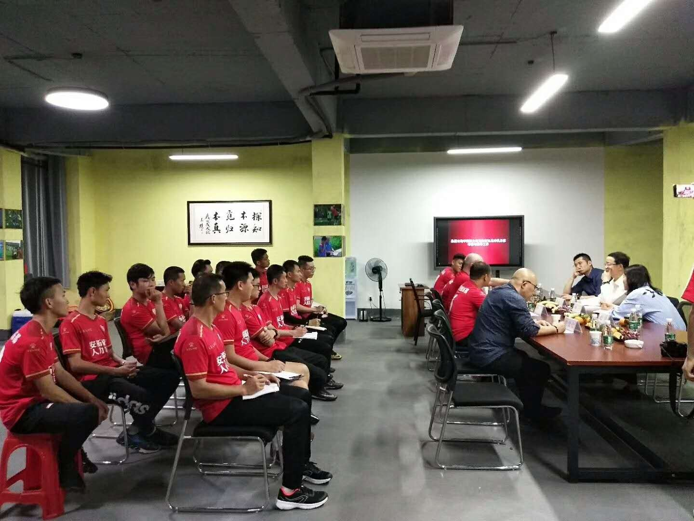 李毓毅对话C罗青训教练中国足协考察南宁足球青