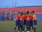 巴萨足球学院世界杯开幕 云南小将收获成长丰富经历
