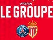摩纳哥公布客战巴黎大名单:法布雷加斯伤缺,西迪贝停赛