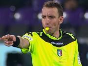 马佐莱尼将主哨意杯半决赛第二回合,米兰对阵拉齐奥的比赛