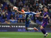 武磊凌空斩收获西甲第二球,西班牙人1-1塞尔塔