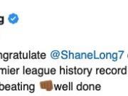 在龙哥打破英超历史最快进球纪录后,原纪录保持者—...