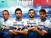 拉齊奧意大利杯決賽版球衣上市