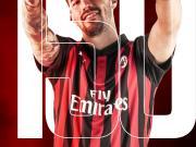 第150场!本场比赛是罗马尼奥利代表米兰的第15...