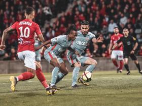摩纳哥客场0-1不敌尼姆,连续7场不胜仅领先第19名2分