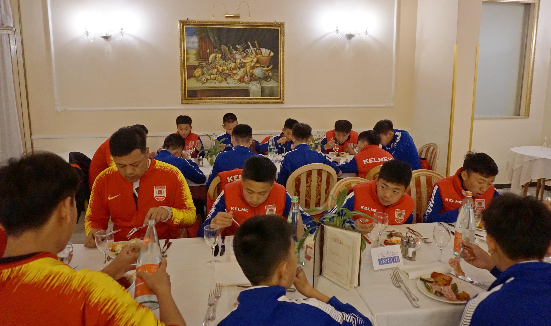 长春亚泰U14队代表中国首次参加阿巴诺杯国际青少年足球赛
