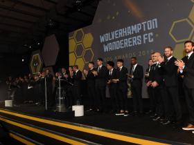 狼队年度颁奖:穆蒂尼奥希门尼斯分获球迷球员年度最佳球员