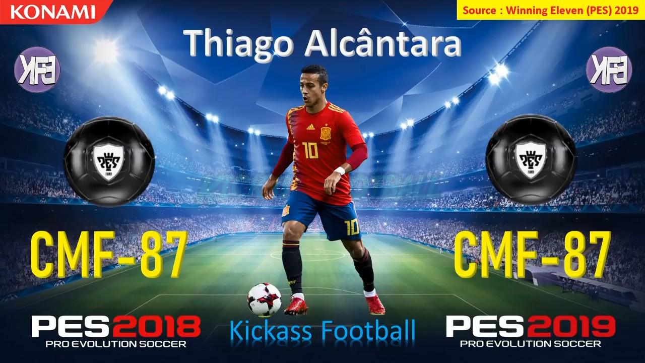 实况足球手游版和pes2019西班牙球员总评升降