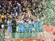 组图:拉齐奥夺得2018-19赛季意大利杯冠军