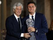 """萨内蒂入选意大利足球名人堂!""""从孩童时期,谦逊和..."""