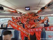 """从武汉开往广州!卓尔球迷远征专列即将""""通车"""""""
