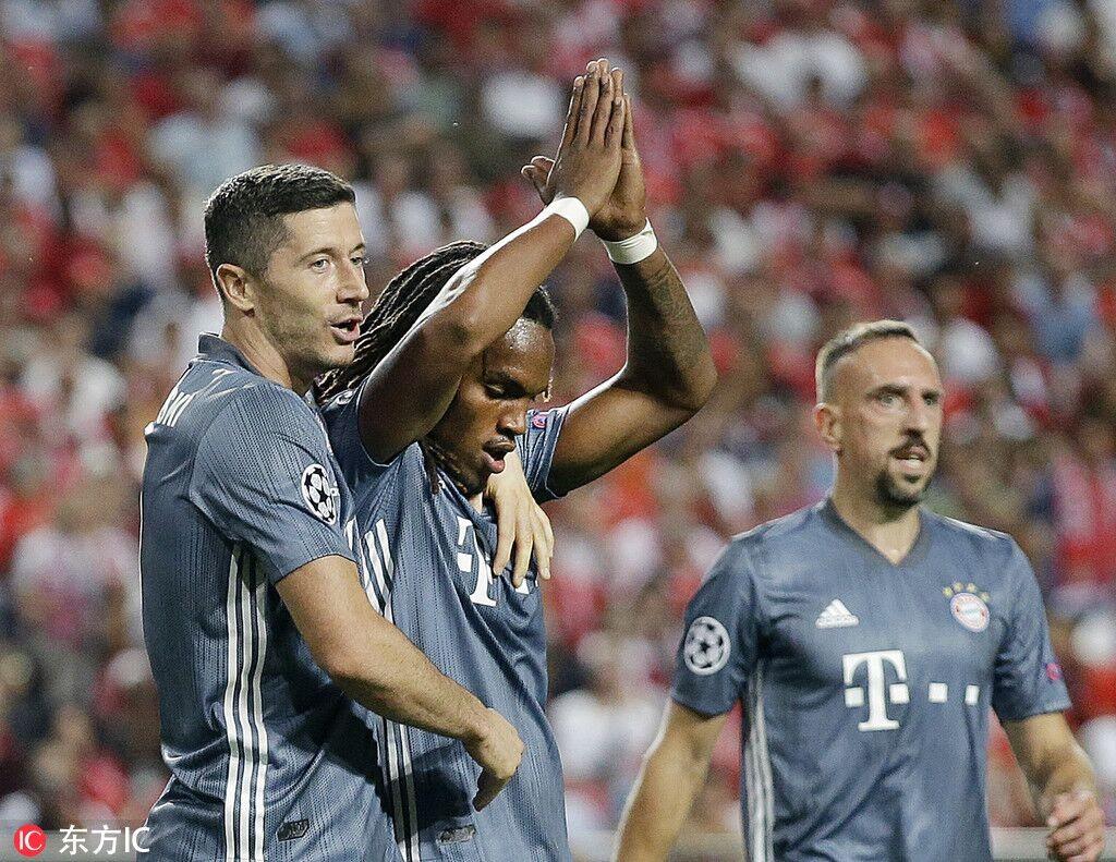 雷西奥:拜仁2-0客胜本菲卡穆勒迎欧冠百场桑切斯