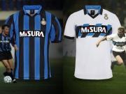 回忆三驾马车,国际米兰推出1990/91赛季官方复刻球衣